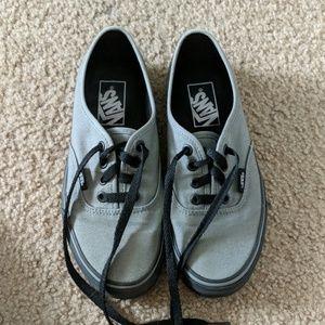 Vans low rise skate shoes